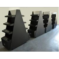 Buy cheap Commercial Cosmetic Display Shelves Makeup Rack Display Black Matte Surface Tree Style product