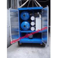 China Trailer mounted vacuum  transformer oil centrifuging machine, mobile insulation oil filter on sale