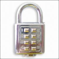 Buy cheap Digital Padlock (With 8 Digits), Private Labels Acceptable for Large Quantity product