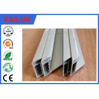 Buy cheap Aluminium Solar Mounting Structure , 4.0 Mm Glass Standard Module Aluminium Section Profile product