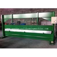 Buy cheap TY 4m Hydraulic Color Coated Steel Sheet Bending Cutting Machine PLC  Panasonic product