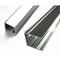 Quality Square Mechanically Polished Aluminium Profile Extrusion For Building Material for sale