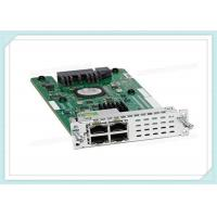 Buy cheap Gigabit Layer 2 Integrated Services Router NIM-ES2-4 4-Port Cisco 4000 Series product