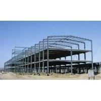 China Steel Frame Building Construction Multi - story Steel Structure Warehouse on sale