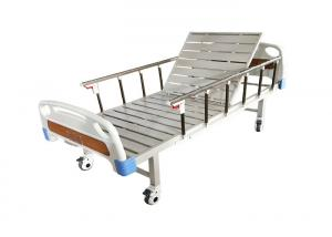 Buy cheap Cheap Price Single Crank Manual Hospital Use Medical Bed For Patient Manual Adjustable Steel Single 1 Crank Hospital Bed product