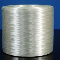 Buy cheap PP PBT White E Glass Direct Roving 130mm Stiffness Thermoplastic Yarn product