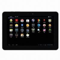Buy cheap 10.1-inch Tablet PC, RK3066 ARM Cortex A9 1.6GHz, Dual Core, Supports Android 4.0.4 OS and Bluetooth product