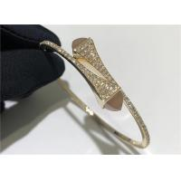 Buy cheap 18 Karat Gold Diamond Slip-on Bracelet CLEO DIAMOND SLIP-ON BRACELET product