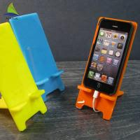 Buy cheap Elegant Colorful Crystal Clear Cell Phone Accessories Display Stand Easy Clean product