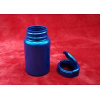 Buy cheap Colorful Round Plastic Bottles , Pharmaceutical Pill BottlesEasy To Open / Close product