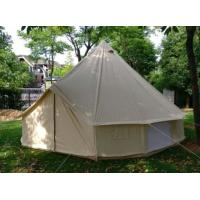 Buy cheap Custom Outdoor Canvas Tent , Heavy Duty Cotton Canvas Bell Tent product