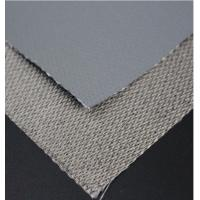 Buy cheap Single Side Silicone Coated Glass Fiber Fabric Insulation Fire Resistant Silicone Rubber Sheet product