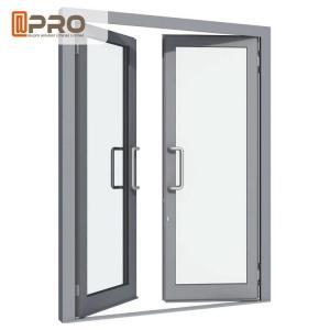 Buy cheap Aluminium Double Glazed French Doors , Soundproof French Hinged Doors STEEL DOOR HINGE swing door hinge DOOR CONCEAL product