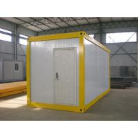 Buy cheap Low cost modern sandwich panel prefab container house in India from wholesalers