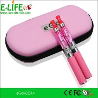 Buy cheap Fashion e cigarette eGo ce4+ starter kits with heat from bottom colorful for choose product
