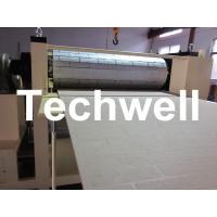 Buy cheap Pattern Carved Depth 0.4 - 0.7mm MDF Panel Embossing Machine With Speed Frequency Control product