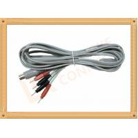 Buy cheap Din 5 Pin to 2.0 tens unit wires 4 Pin Y Type Medial Tens EMS Cable Lead Wire product