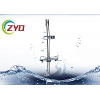 Buy cheap Bright Surface Adjustable Shower Riser Rail Kit , 60CM Long Shower Head Rail Kit product