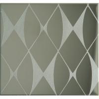 Buy cheap Etching Patterned Stainless Steel Sheet, Colored Stainless Steel Backsplash Panel product