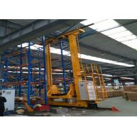 Buy cheap Carbon Steel High Lift Pallet Stacker , Reliable Mechanism Electric Power Stacker product