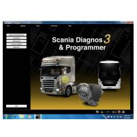 Buy cheap Newest SDP3 V2.23 Software for SCANIA VCI2 without USB Dongle product