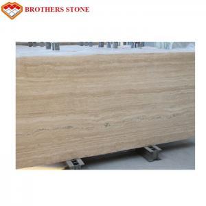 Buy cheap Interior Decoration Travertine Tiles Beige Travertine Light Rusty Travertine product
