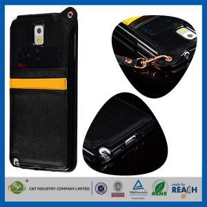 Buy cheap クレジット カード スロットが付いている革ギャラクシー S5 SV Samsung 携帯電話の箱 product