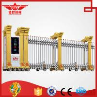 Buy cheap Trackless Government Entrance Electric Retractable Automatic Expandable Gate L1510 product