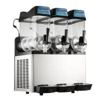 Buy cheap Single Compressor Ice Slush Machine Air Cooling With Three Bowl product