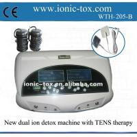Buy cheap Dual ion foot detox ion machine with FIR belt new spa with TENS massage therapy from wholesalers