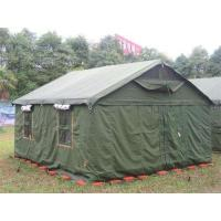 Buy cheap 4 Season Outdoor Canvas Tent Customized Sizes With Good Tear Resistant product