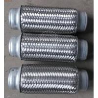Buy cheap 55 X 150mm Auto Exhaust Flexible Pipe Good Noise / Vibration Reduction product