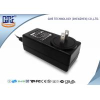 Buy cheap 24v 1.5a AC DC Power Adapter Wall Mounted Power Supply With UL FCC Listed product