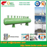 Buy cheap 100 ton SA516 GR70 boiler mud drum for natural gas industry product
