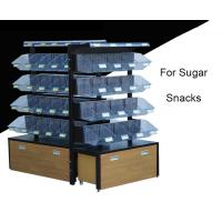 Buy cheap Multi Level Candy Display Case , Convenience Store Candy Racks With 20 Acrylic Boxes product