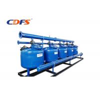 Buy cheap Carbon Steel Irrigation Sand Filter For Agriculture Blue Color DMF - 5 Model product
