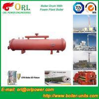 Cement industry steam boiler mud drum TUV