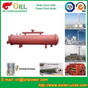Buy cheap Circulation naturelle simple de tambour de boue de chaudière de gaz pour l'industrie textile product