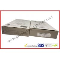 Buy cheap 300gsm Paper Box Card Board Packaging With Clear Window And Blister product