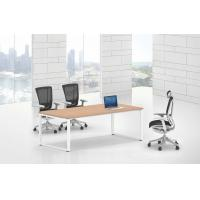 Buy cheap Metal Melamine Office Meeting Table conference room furniture 30x60 steel leg product