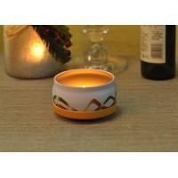 Buy cheap Large Colored Tin Candle Holders Box Personalised For Home Fragrance from wholesalers