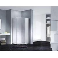 Buy cheap Neo-Angle Hinged Semi Frameless Diamond Shape Shower Enclosure With Pivot Door, AB 3231 product