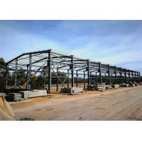 China Light PEB Steel Buildings Metal Agricultural Warehouse Construction Support on sale
