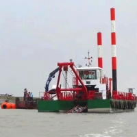 Buy cheap Reclamation Works Mineral Digging River Dredger Hydraulic Driven product