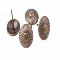 Buy cheap Round Dome Decorative Upholstery Nails Red Copper / Bronze For Sofa product