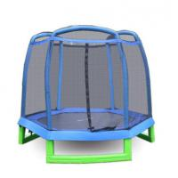 China Economy Active Hop Small Trampoline for Kindergarten Using/ The Park Trampoline with Safety Net Made in China on sale