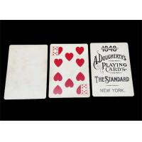 Buy cheap Logo Printed 100 Plastic Deck of Playing Cards Waterproof Custom Design Acceptable product