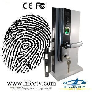 Buy cheap Biometric Fingerprint Door Lock with OLED Display and USB port, electronic biometric door lock (HF-LA501) product