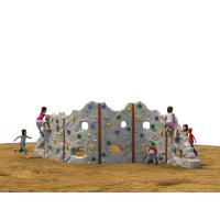 China Galvanized Steel Kids Climbing Wall Curved Plate Splicing Rock Artificial on sale