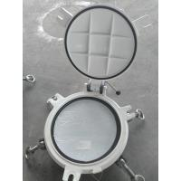 Buy cheap Fixed Model Portlights Marine Windows Marine Ships Scuttle Window With Storm Cover from wholesalers
